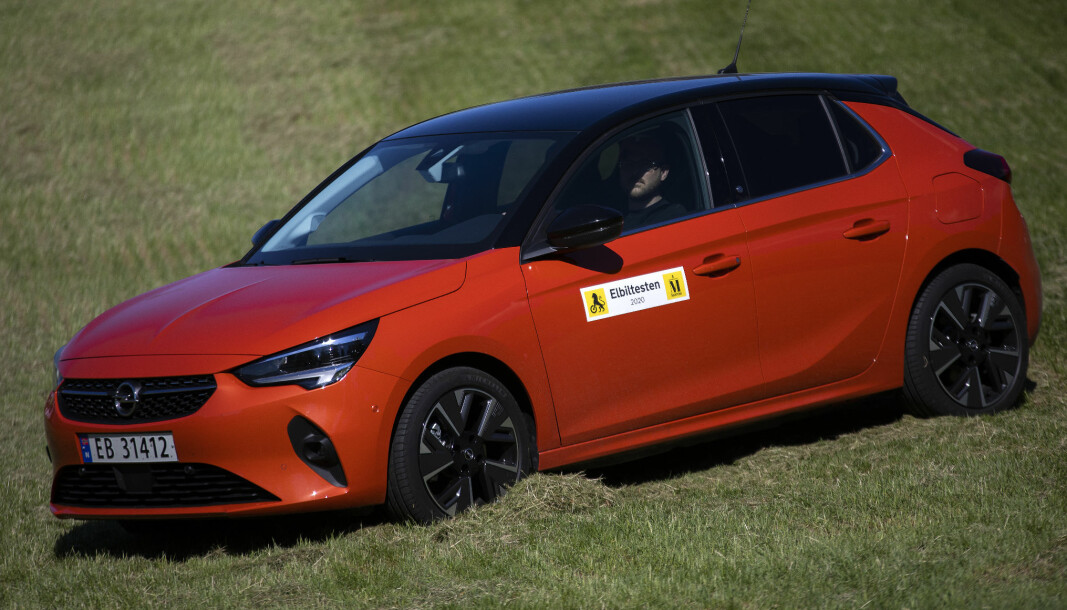 "<span class=""font-weight-bold"" data-lab-font_weight_desktop=""font-weight-bold"">FINALIST 9:</span> Opel Corsa-e (elbil)"