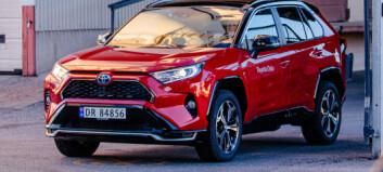 Kraftig økning i Toyotas overskudd