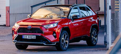RAV4 på topp igjen i voksende bilmarked