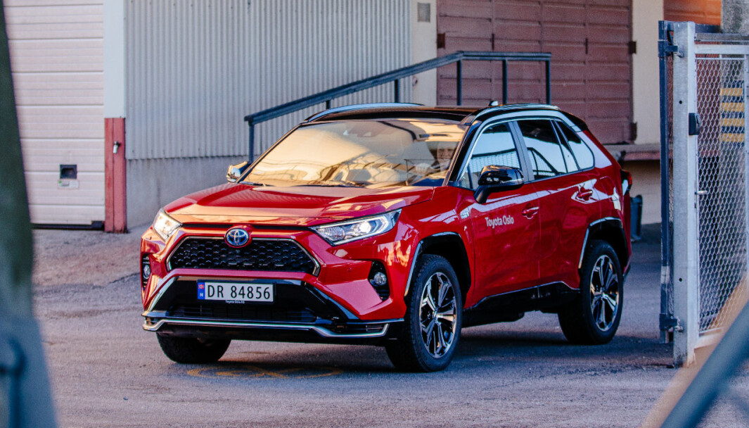 NORSK FAVORITT: Ladbare RAV4 har løftet Toyota-salget i Norge.