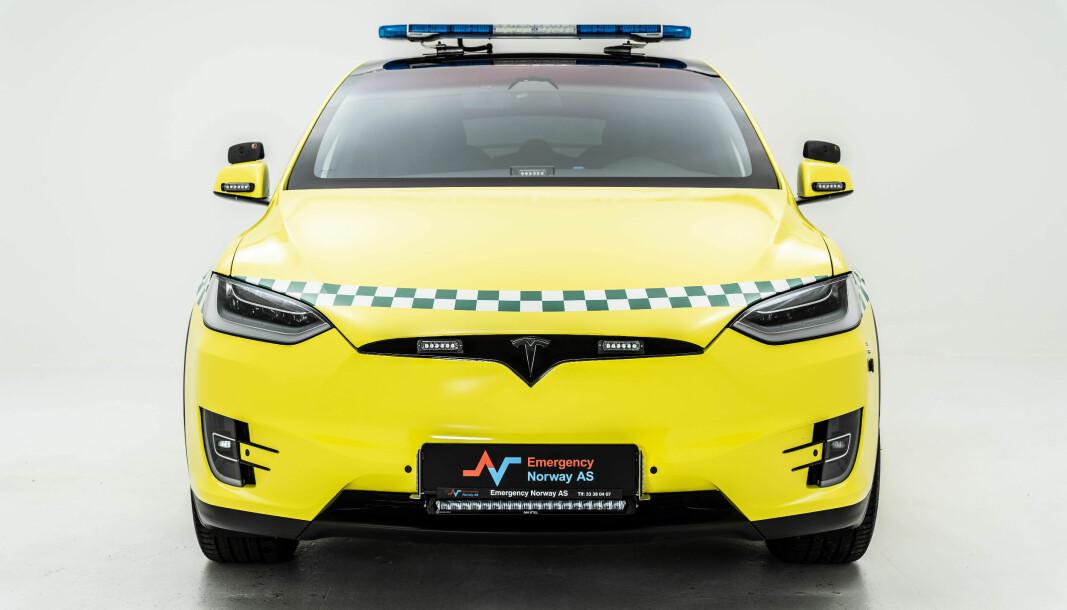 """<span class="""" font-weight-bold"""" data-lab-font_weight_desktop=""""font-weight-bold"""">PIONÉR: </span>Går det som man håper i Helse Midt-Norge, så blir elektriske ambulanser et vanlig syn om 4-5 år. Dette er bilen som staket ut kursen."""