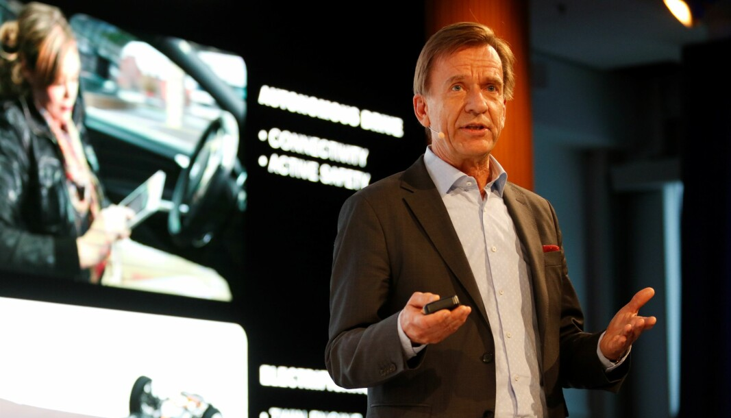 SLUTT MED SUBSIDIER: Håkan Samuelsson, toppsjef i Volvo Car, vil heller ha forbud.