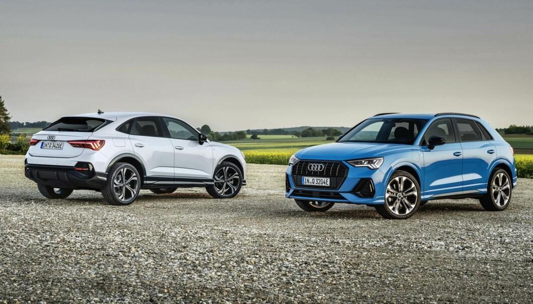 FEM MIL PÅ STRØM: Q3, den kompakte SUV-en til Audi, utvider utvalget ladehybrider fra Ingolstadt.