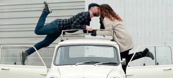 Kjærester med bilen