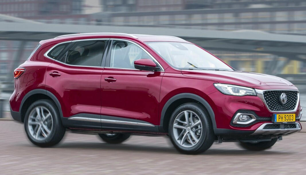 LADEHYBRID: MG lanserer sin andre bil i Europa. Ladehybriden er klar i januar.