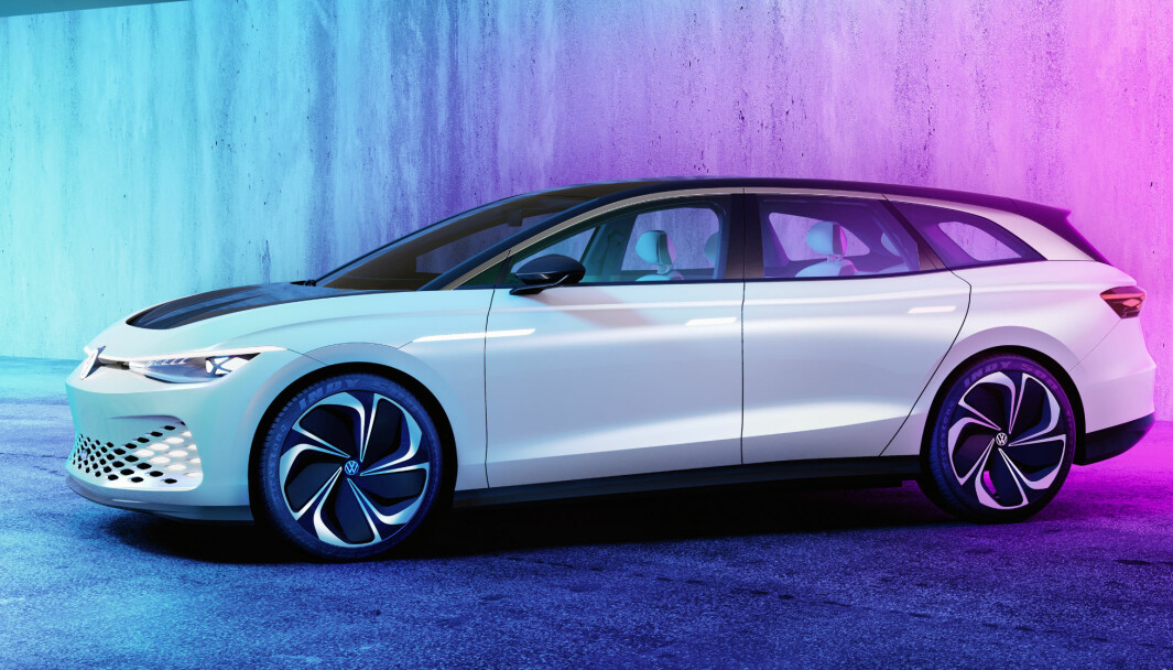 SKRIDER FREM: VW ruller ID-modell som denne Passat-erstatteren, men etter den kommer helt ny generasjon storbil i det nye «Trinity»-prosjektet.