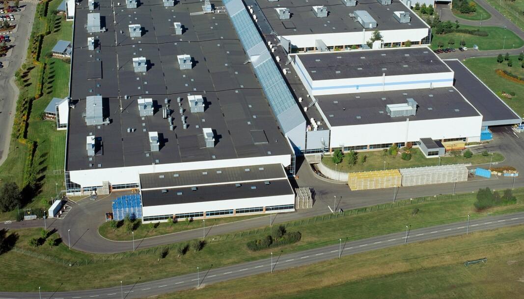 EL-MOTOR NESTE: Volvo-fabrikken i Skövde.