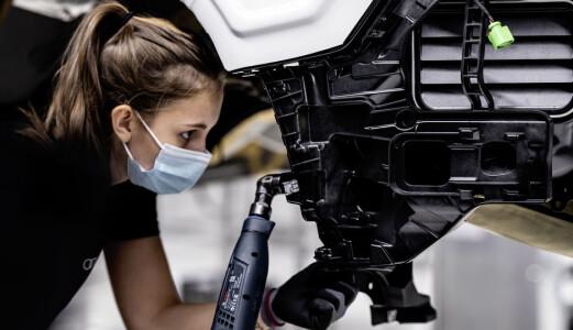 Audi starter produksjonen av sin nye elbil-versting