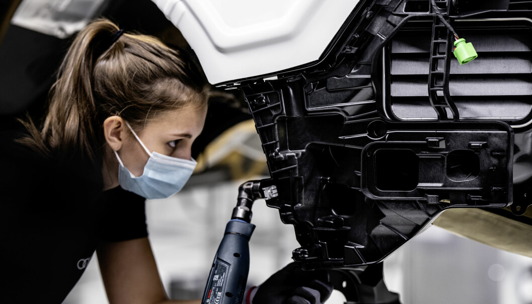 GT-PRODUKSJON: Audi starter nå opp en historisk produksjon i Neckarsulm.