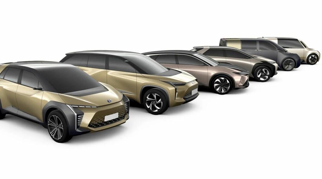 STORE AMBISJONER: Når Toyota kommer med elbiler, blir det ikke for å spille i OBOS-ligaen.