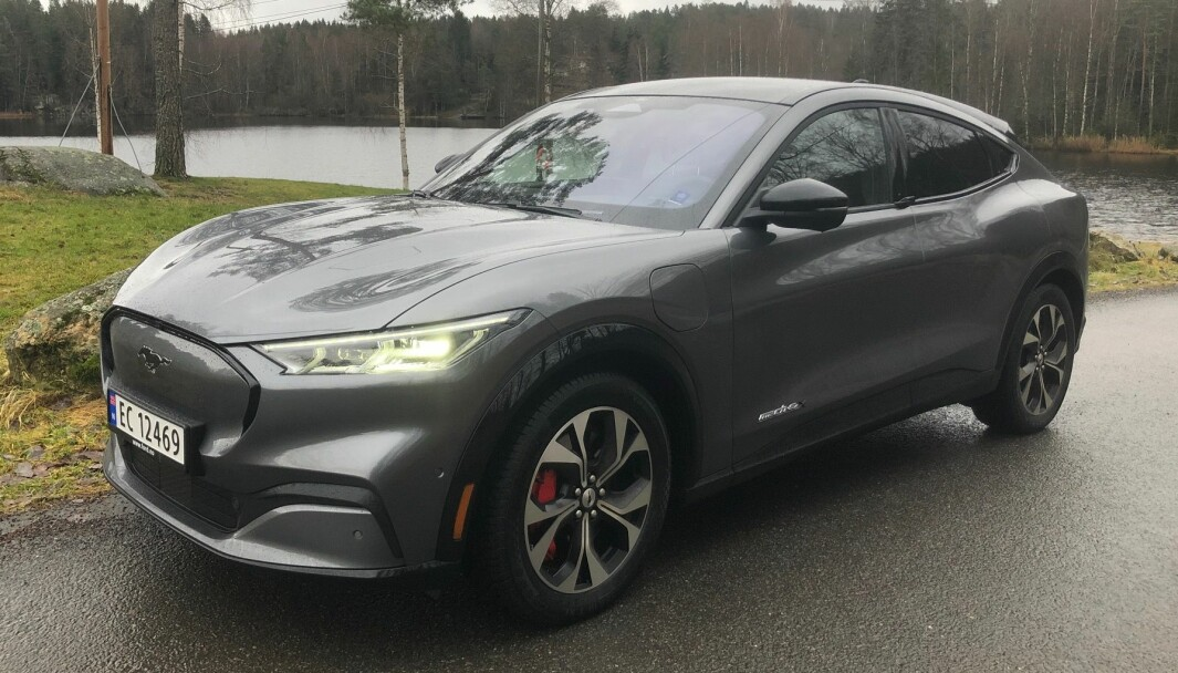 VINNERTYPE: Ford Mustang Mach-e er omsider på norske veier, og bilen innfrir forventningene.