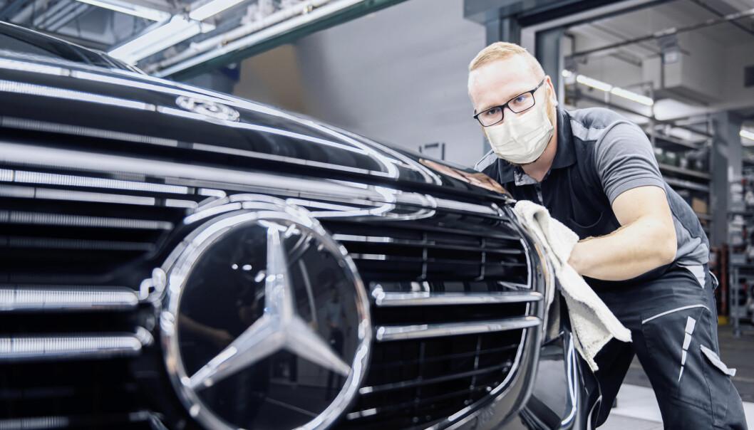 FORBEREDER STORSATSING: Mercedes gir bånn gass i elbil-produksjonen.