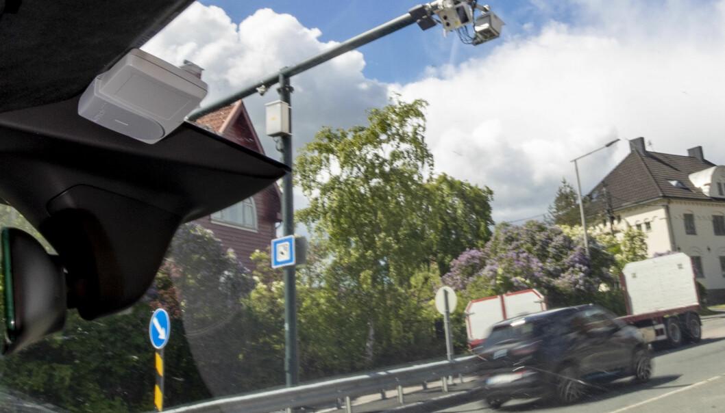 DOBLING: Denne BMW-en og alle andre elbiler må nå betale dobbelt så mye i bompenger i Oslo.