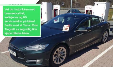 Trodde han kjøpte Tesla-drømmen. Så kom denne SMS-en...