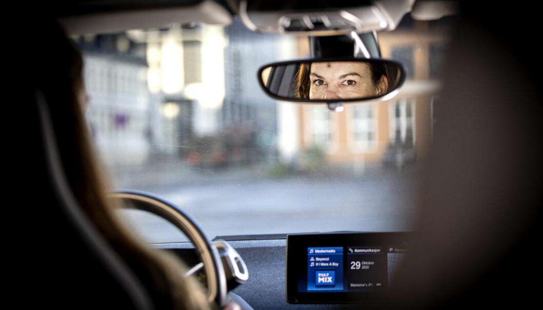 SYNET SVEKKES: – Når du passerer 50 er synet halvert, sier Marianne Søhagen, NAFs fagsjef for trafikksikkerhet.