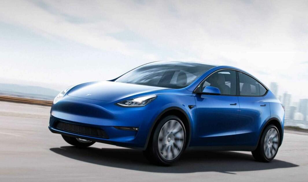 DEN NESTE: Model Y er den neste Tesla-modellen som kommer til Norge