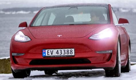 Tesla slo VW på målstreken