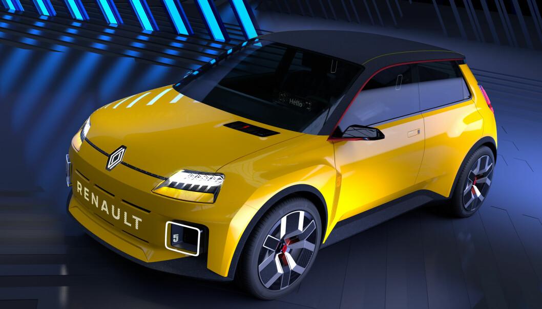 IKONET: Renault 5 forberedes i elektrisk utgave
