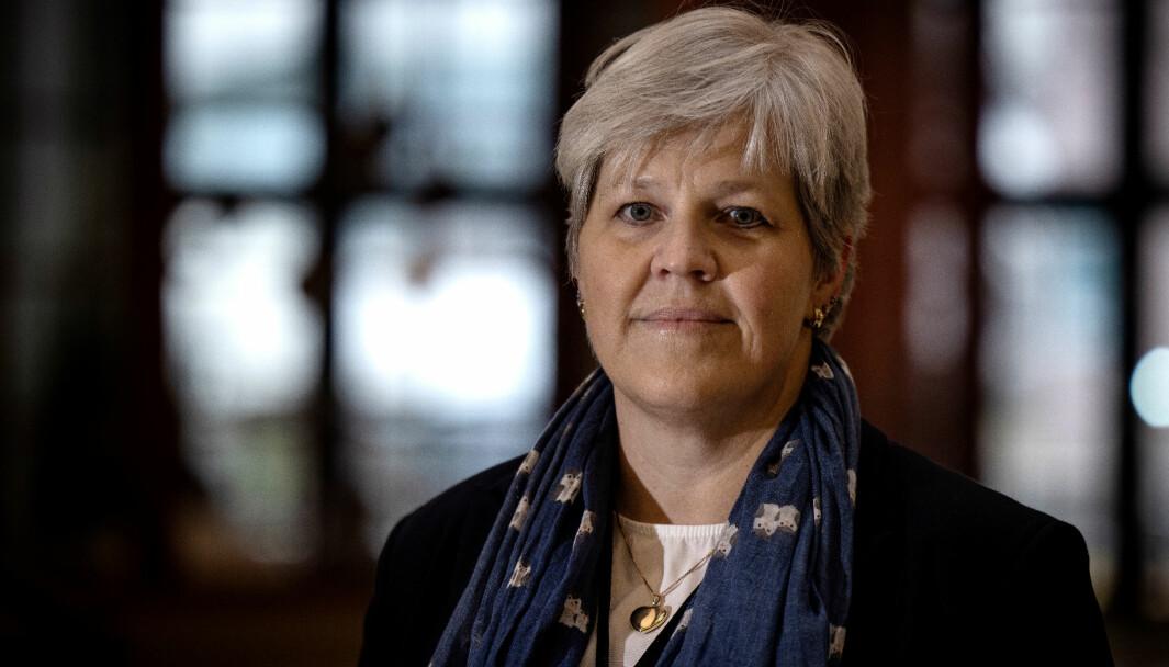 ADVARER: Vigdis Svennungsen, leder for NAF Advokat, opprettholder advarselen sin.
