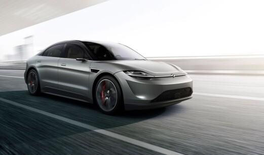 Sony overrasker med tester av ny elbil i Europa