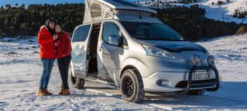 Nissan tester konseptbil for elektrisk vinter-camping