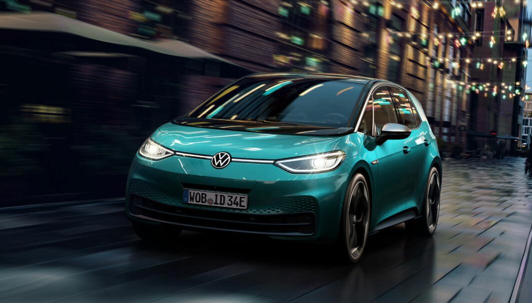 MINSTEMANN: VW ID.3 kommer nå også i byutgave.