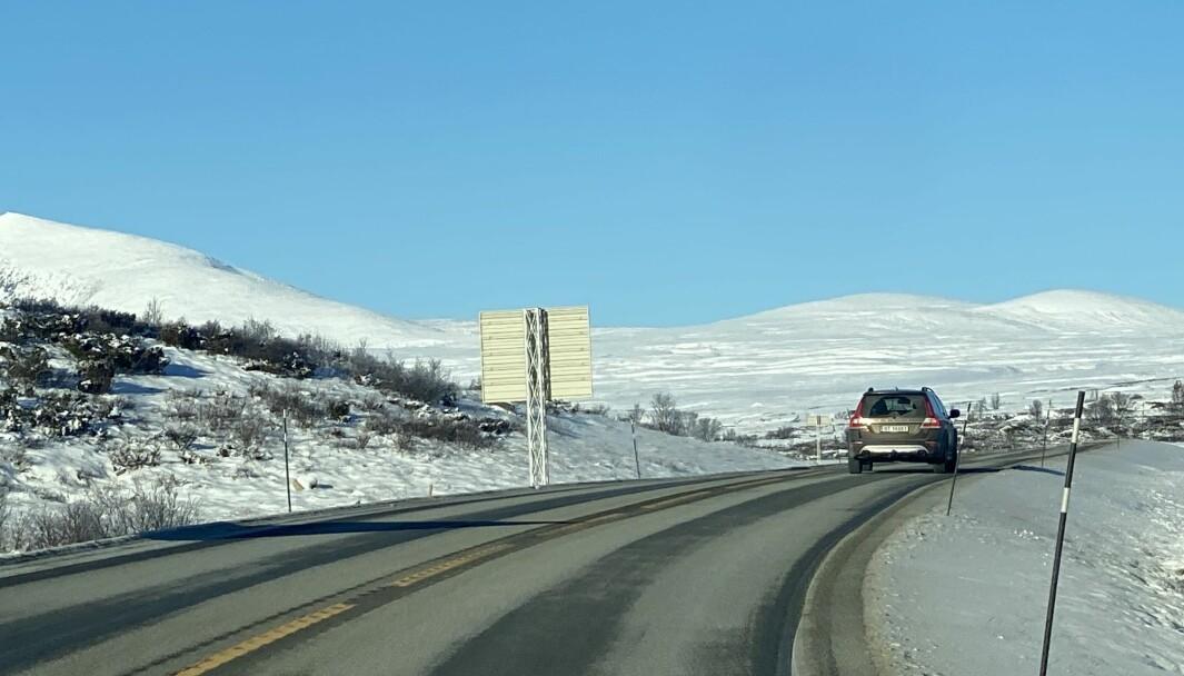 EUROPAVEI: Statens vegvesen bruker nær 6 milliarder årlig på vedlikehold av europaveier, som E6 over Dovre.