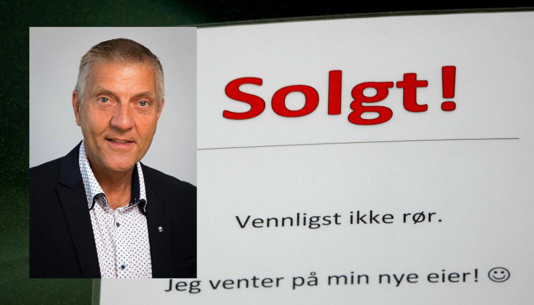 FØRST PRØVE…: Bileksperten Tore Lillemork napper ikke vekk solgt-skiltet før han har prøvekjørt.