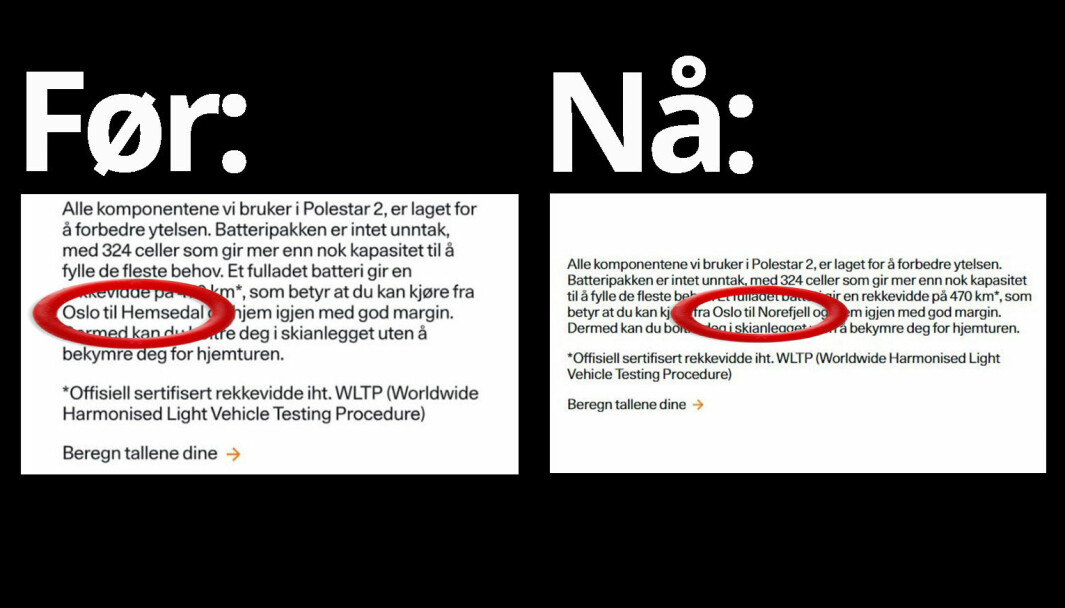 UT PÅ TUR: Polestar mente før at batteriet holdt Oslo-Hemsedal t/r. Nå tror de det bare rekker til Norefjell.