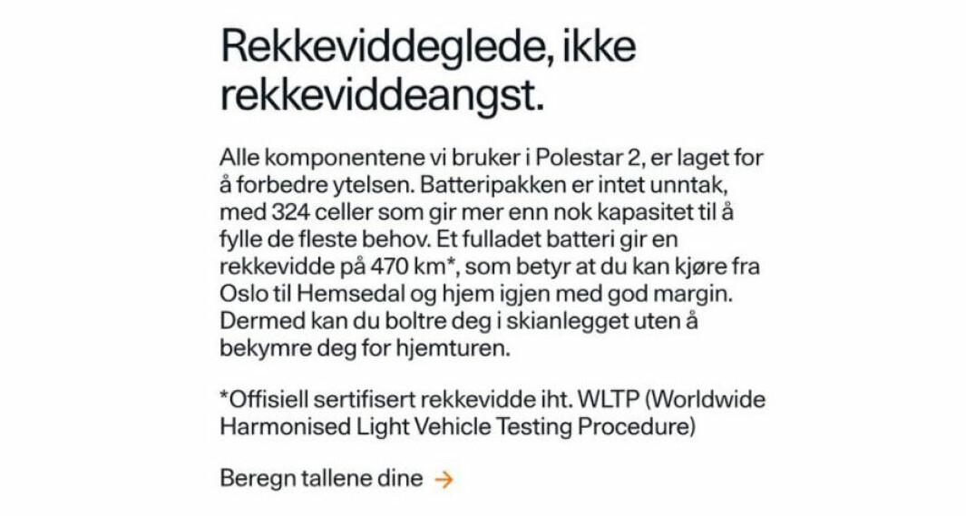 "<span class=""font-weight-bold"" data-lab-font_weight_desktop=""font-weight-bold"">FØR: </span>God margin på den 408 km lange strekningen tur-retur Oslo-Hemsedal."