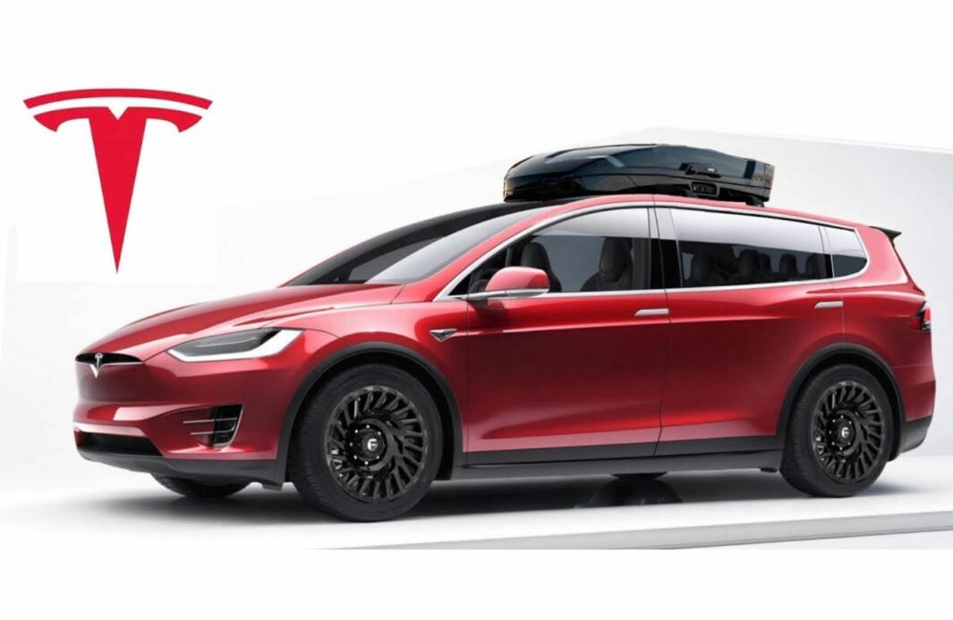 TESLA MODEL XL: I forrige uke bekreftet Elon Musk at en elektrisk «van» fortsatt er planlagt. Når den kommer, vil avhenge av tilgangen på batterier.