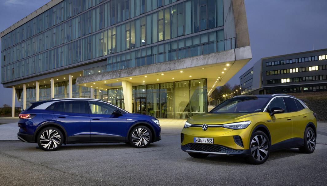 NYE VERSJONER: Volkswagen ID.4 får nå nye priser og utstyrspakker.