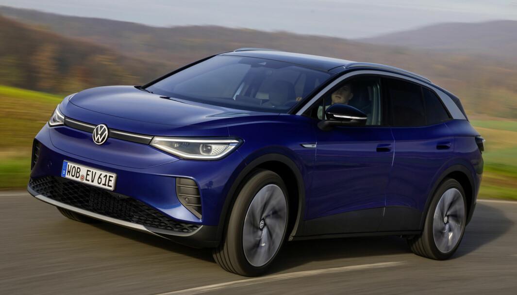 ROS: Volkswagen ID.4 får mye positiv omtale av svenske eksperter.