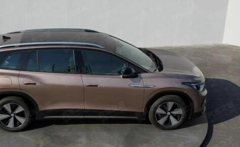 Her er de første bildene av el-SUV-en VW ID.6