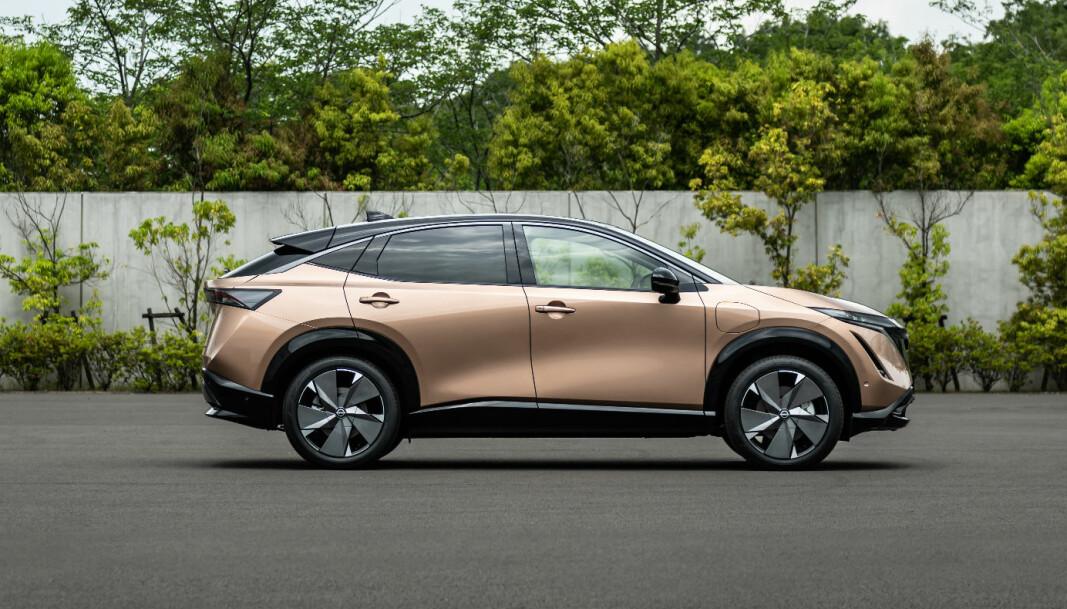 """<span class="""" font-weight-bold"""" data-lab-font_weight_desktop=""""font-weight-bold"""">NY TID - NY STIL: </span>Nissan kaller sin nye designretning tidløs japansk futurisme."""