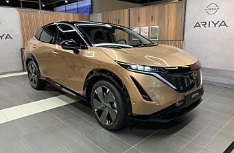 Norske kjøpere får el-SUV-en Ariya først i 2022
