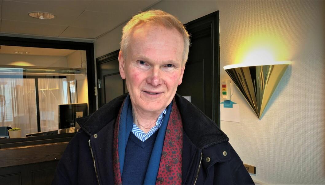 ANGRER: Hans Henning Hobøl solgte bruktbil til Sven Jarle Knoll.