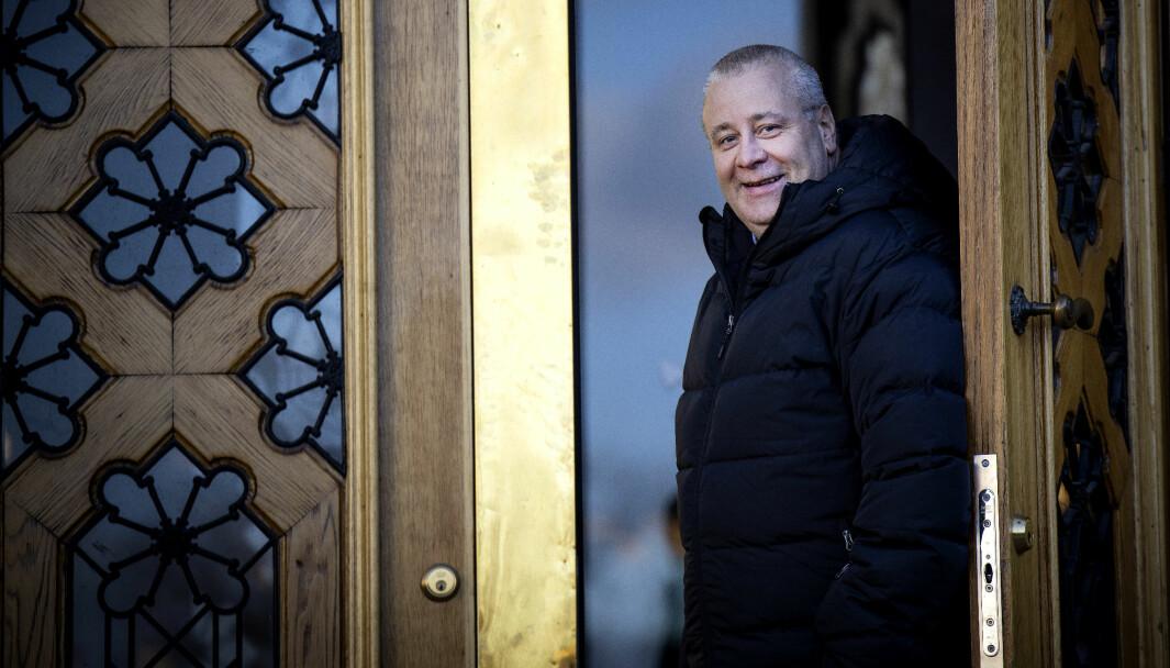 LOVER KAMP: Samferdselspolitisk talsmann Bård Hoksrud i Fremskrittspartiet.