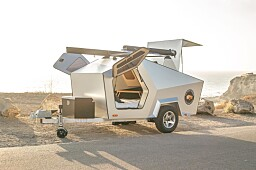 Her er campingvogna som skal passe en mindre elbil