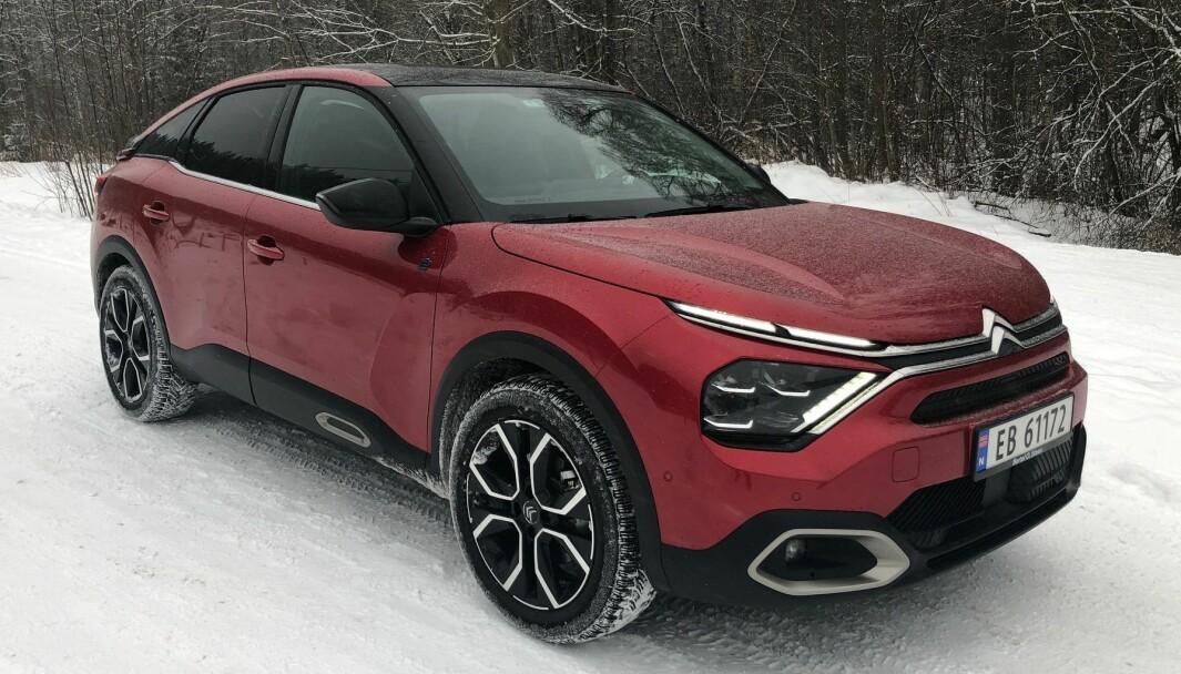 IMPONERER: Citroëns elektriske nykommer overbeviser på flere områder.