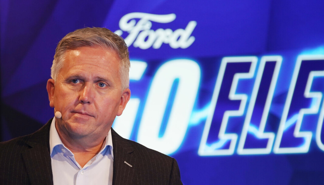 PLUGGER INN: Fords Europa-sjef Stuart Rowley.