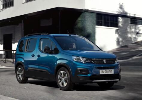 Peugeot lanserer ny elektrisk flerbruksbil