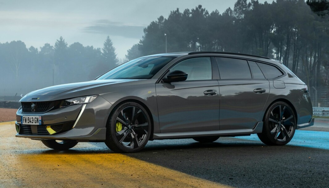 TIDENES STERKESTE: Det er bare i rallyløypene vi har sett en raskere Peugeot enn denne.
