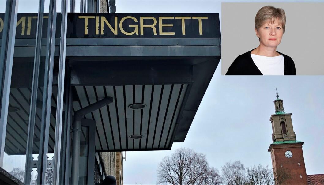 AVSLAG: Siv Hallgren og Gjenopptakelseskommisjonen har avslått å gjenoppta en dom fra Fredrikstad tingrett i 2015.
