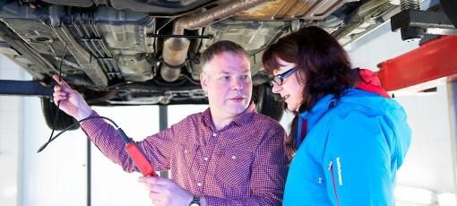 – Bare ett merke lager biler som står mot rust i Norge
