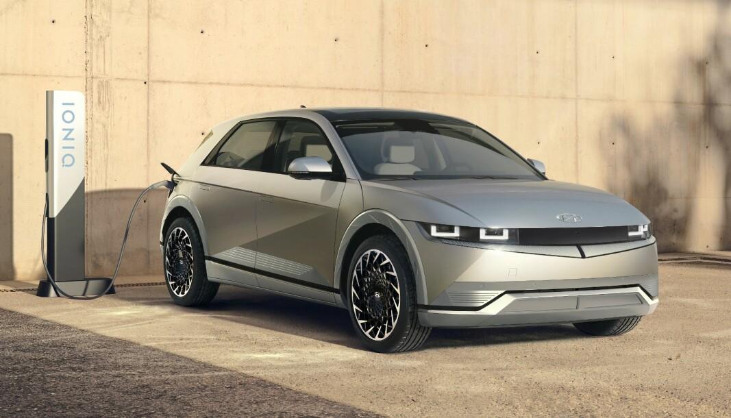 NEI, INGEN SUV: Ioniq 5 har vært omtalt som en SUV, men det er en kombikupé det dreier seg om.