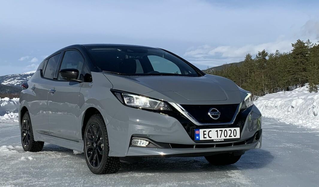 OVER 60.000 SOLGTE: Nissan Leaf er godt inne i annen generasjon og det er solgt over 60.000 i Norge. Nå er den ytterligere forbedret.