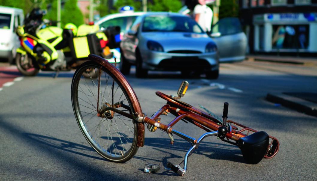 FEIL TALL? 125 sykkelskader med personskade i Oslo i 2014, i følge SSB. Legevakta rapporterte om 13 ganger høyere tall.Click to add image caption