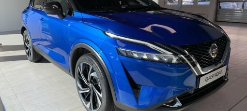 Nissan overrasker med ny Qashqai-generasjon