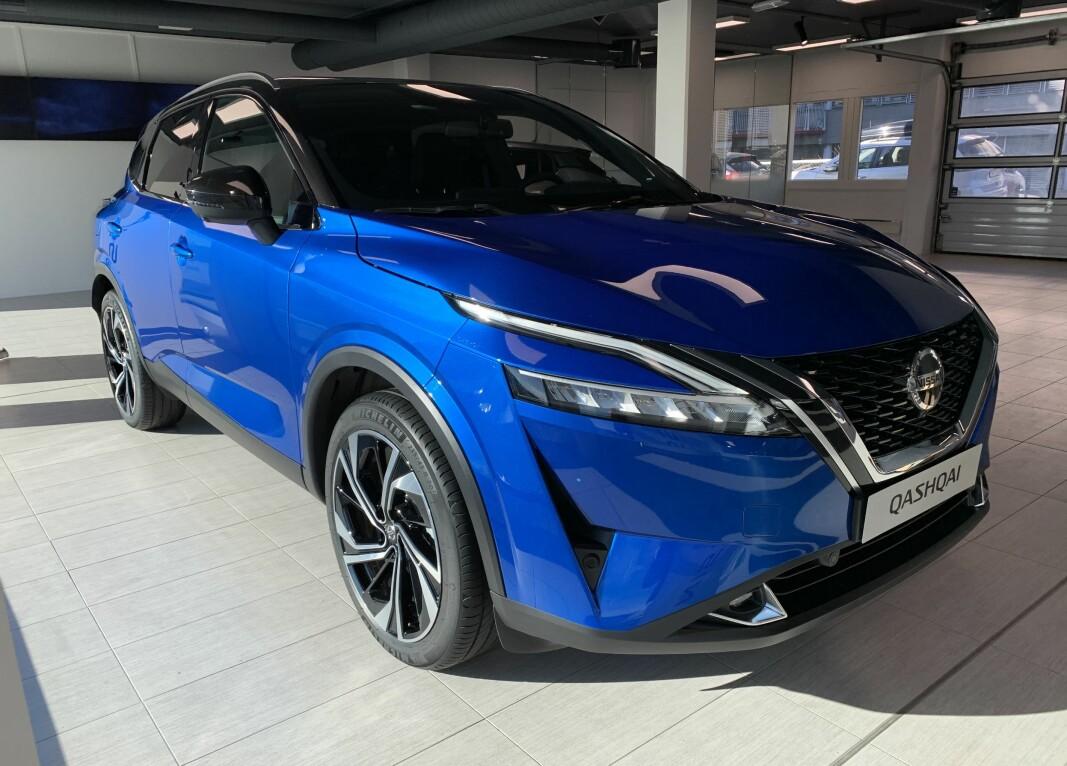 NUMMER TRE: Tredje generasjon av suksessen Nissan Qashqai er ute av egget. Tre millioner av de to første er blitt solgt i Europa.